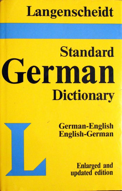 Langenscheidt Standard German Dictionary