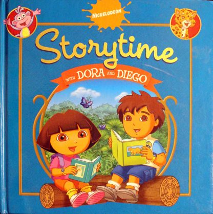 Storytime with Dora and Diego Simon Spotlight Nickelodeon