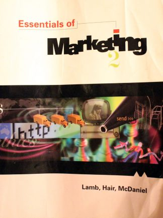 Essentials of Marketing Paperback By (author) Charles Lamb , By (author) Prof Joseph F. Hair , By (author) Prof Carl McDaniel