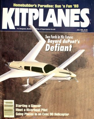 Vintage Kit Planes Magazine July 1993