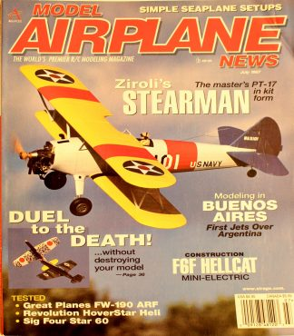 Vintage Model Airplane News July 1997