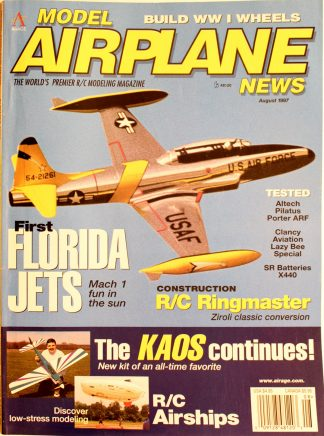 Vintage Model Airplane News August 1997