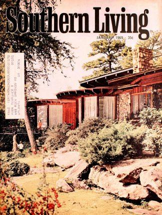 Vintage Southern Living Magazine January 1969