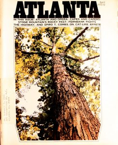 Vintage Atlanta Magazine,April, 1970, Vol.9, No.12