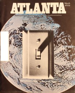 Vintage Atlanta Magazine, March, 1971, Vol.10, No.11
