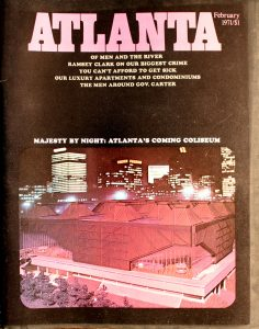 Vintage Atlanta Magazine, February, 1971, Vol.10, No.10