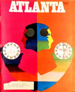 Vintage Atlanta Magazine ,January 1970, Vol. 9, No.9