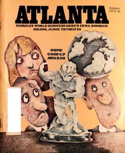 Vintage Atlanta Magazine,January,1974, Vol.13, No.9