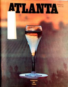 Vintage Atlanta Magazine,February,1972, Vol.11, No.10