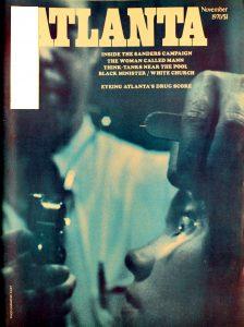 Vintage Atlanta Magazine, Novermber, 1970, Vol.10, No.7