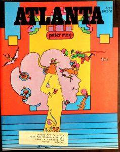 Vintage Atlanta Magazine, April, 1972, Vol.11, No.12
