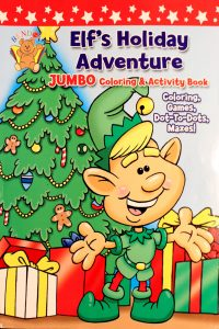 Elf's Holiday Adventure Jumbo Coloring & Activity Book by Brendan Publishing International