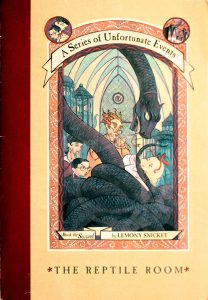 The Reptile Room (A Series of Unfortunate Events #2) by Lemony Snicket