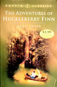 The Adventures of Huckleberry Finn (Puffin Classics) by Mark Twain
