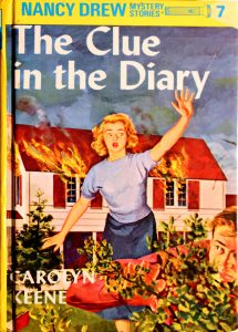 The Clue in the Diary Book by Carolyn Keene