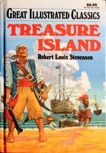 Treasure Island (Illustrated Illustrated Classics) by Robert Louis Stevenson