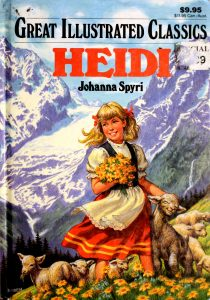 Heidi (Great Illustrated Classics) Johanna Spyri