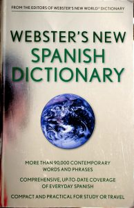 Webster's New Spanish Dictionary by Wiley Publishing