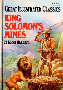 King Solomon's Mines by Jack Kelly (Adopter), H. Rider Haggard