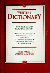 Webster's Dictionary: New Revised and Expanded Edition by Landoll Inc.