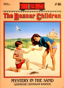 Mystery in the Sand (The Boxcar Children #16) by Gertrude Chandler Warner