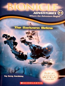 The Darkness Below (Bionicle Adventures #3) by Greg Farshtey