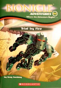 Trial by Fire (Bionicle Adventures #2) by Greg Farshtey