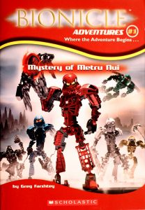 Mystery of Metru Nui (Bionicle Adventures #1) by Greg Farshtey