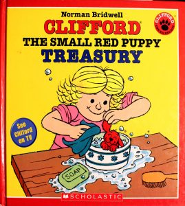 Clifford the Small Red Puppy Treasury by Norman Bridwell