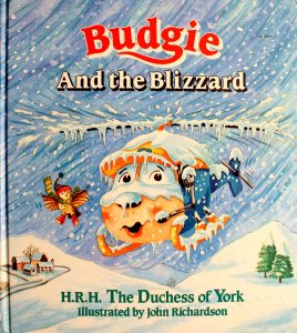 Budgie and the Blizzard by Sarah Ferguson