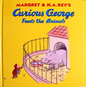 Curious George Feeds the Animals by Margret Rey, H.A. Rey