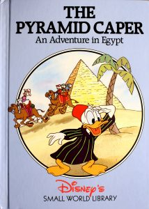 The Pyramid Caper: An Adventure in Egypt (Small World Library) by Walt Disney Company