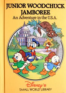 Junior Woodchuck Jamboree: An Adventure in the U.S.A. (Small World Library) by Walt Disney Company