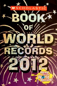 Scholastic Book of World Records 2012 by Jenifer Corr Morse