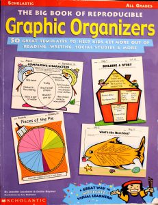 Big Book of Reproducible Graphic Organizers: 50 Great Templates That Help Kids Get More Out of Reading, Writing, Social Studies, More! Rate this book 1 of 5 stars 2 of 5 stars 3 of 5 stars 4 of 5 stars 5 of 5 stars Big Book of Reproducible Graphic Organizers: 50 Great Templates That Help Kids Get More Out of Reading, Writing, Social Studies, More! by Jennifer Jacobson, Dottie Raymer