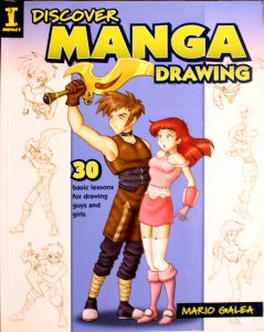 Discover Manga Drawing Kit by Mario Galea