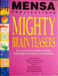 Mensa Publications Mighty Brain Teasers by Allen, Robert