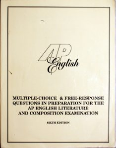 Multiple-Choice and Free-Response Questions in Preparation for the Ap English Literature and Composition Examination by Richard Vogel