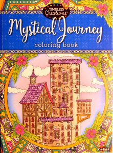 Cra-Z-Art Timeless Creations MYSTICAL JOURNEY COLORING BOOK