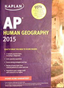 Kaplan AP Human Geography 2015 by Kelly Swanson
