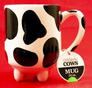 "Pier 1 Imports ""Udderly Cows"" Ceramic Mug"