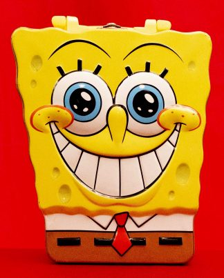 Sponge Bob Tin Lunch Box,2003 Viacom,Hillenburg