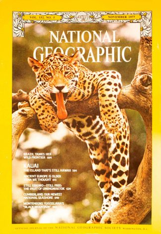 National Geographic Volume 152, No. 5 November 1977