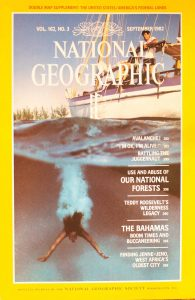 National Geographic Volume 162, No. 3 September 1982