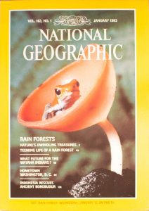 National Geographic Volume 163, No. 1 January 1983