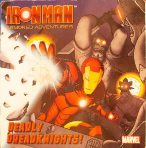 Deadly Dreadknights! Iron Man Paperback – 2010 by Frank Berrios (Author)
