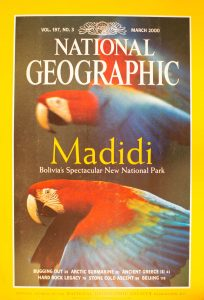 """National Geographic Vol 197, No.3, March 2000, """"Madidi: Bolivia's Spectacular New National Park"""""""