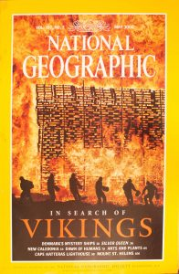 """National Geographic Vol 197, No.5, May 2000, """"In Search of Vikings"""""""