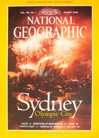 """National Geographic Vol 198, No.2, August 2000, """"Sydney, Olympic City"""""""