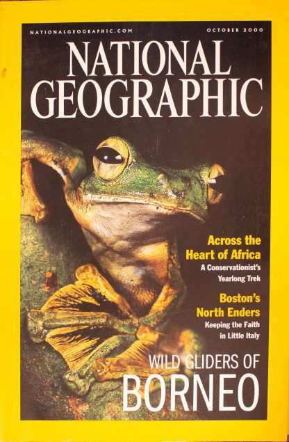 """National Geographic, October 2000, """"WILD GLIDERS OF BORNEO"""""""
